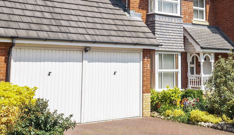 Garage doors opening in Bristol