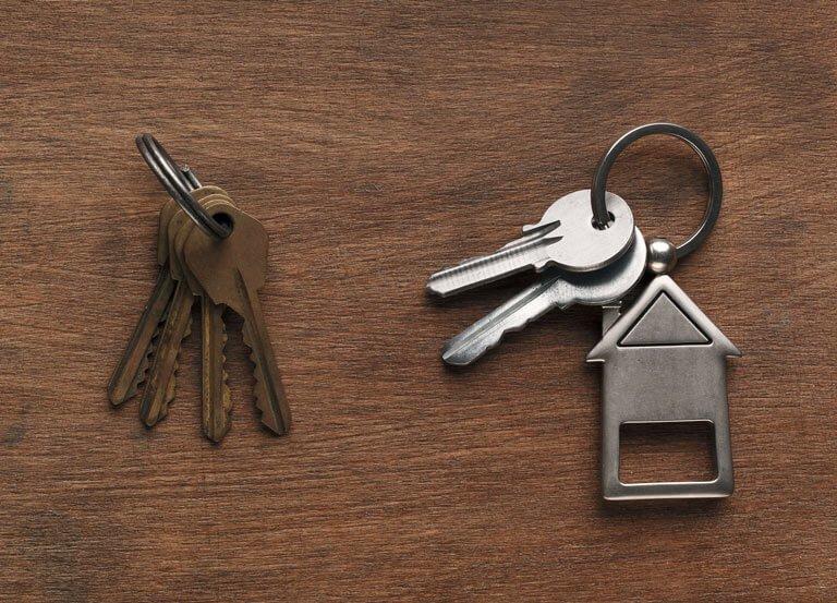 New keys when lock changing in Bristol